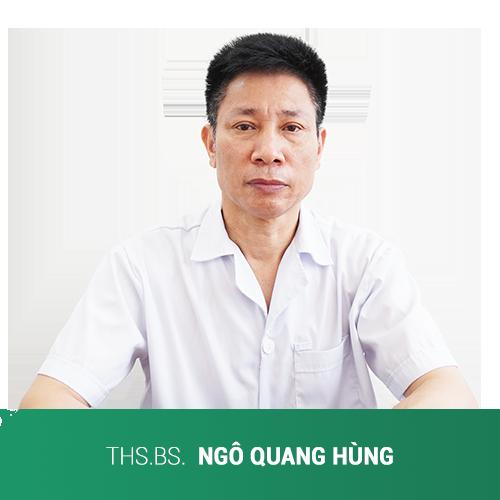 Thạc sĩ bác sĩ Ngô Quang Hùng – trưởng khoa châm cứu BV đa khoa  y học cổ truyền Hà Nội